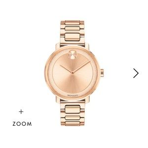 MOVADO Woman's Rose Gold Watch